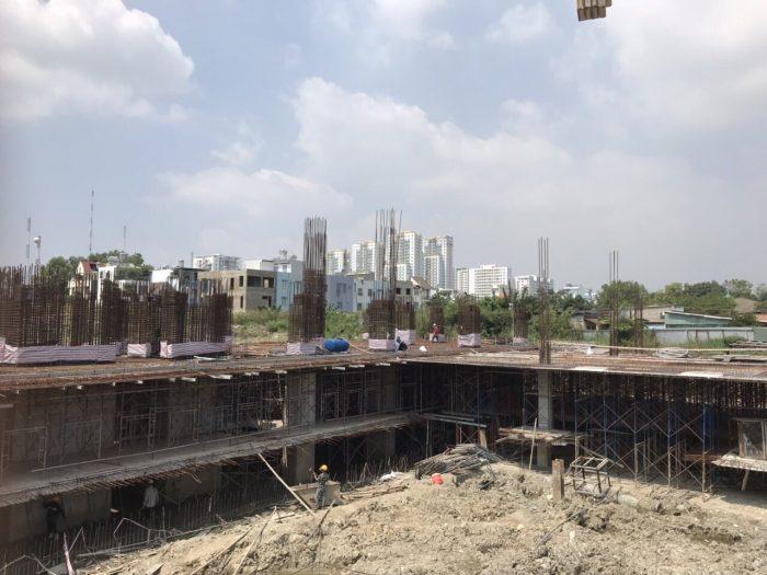 tiến độ dự án saigon south plaza quận 7