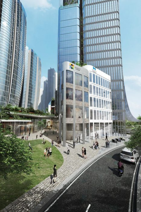 Hình ảnh: Toà tháp 69 tầng Eco Green Sài Gòn